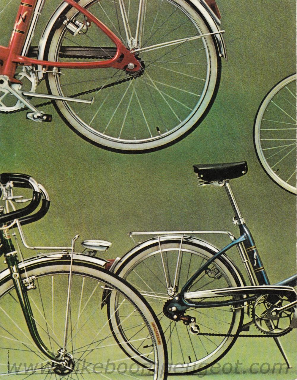 peugeot 1972-1973 france brochure