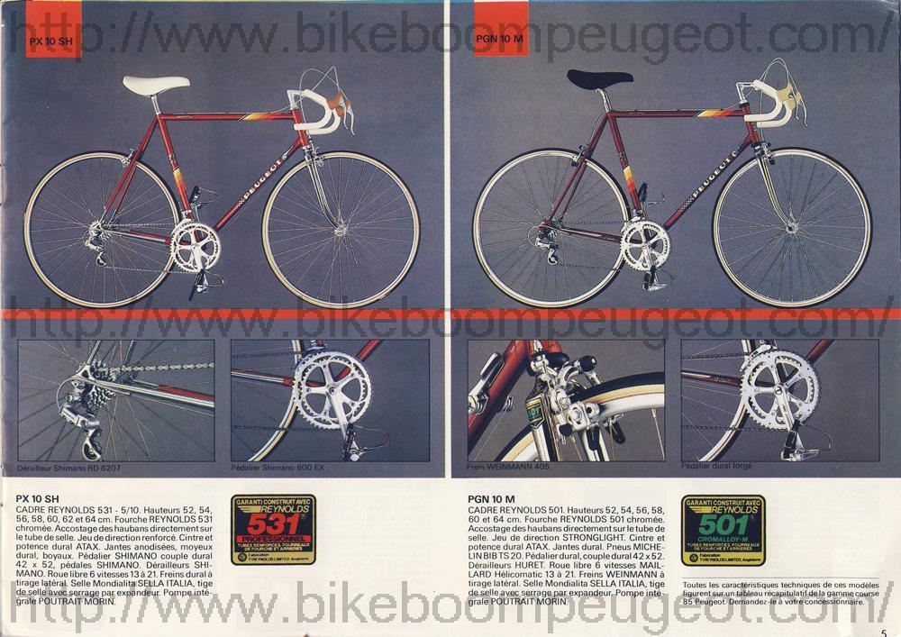 Peugeot PX10 SH Peugeot_France_1985_Brochure_PX10SH_PGN10M_BikeBoomPeugeot