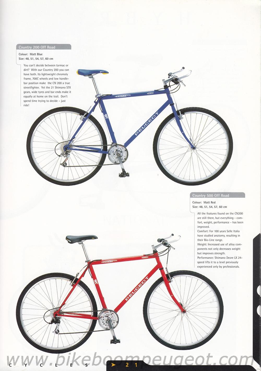 Peugeot 1998 UK Brochure
