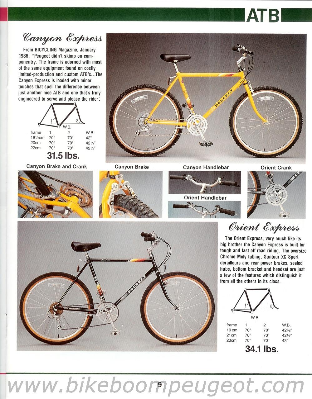Peugeot 1986 USA Brochure