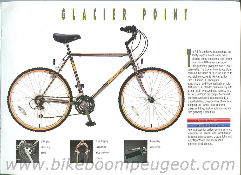 Peugeot 1990 USA Brochure