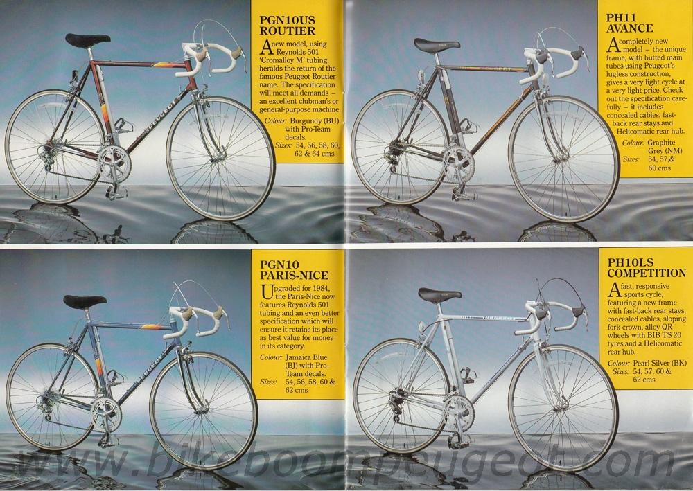 Peugeot 1984 Brochure United Kingdom